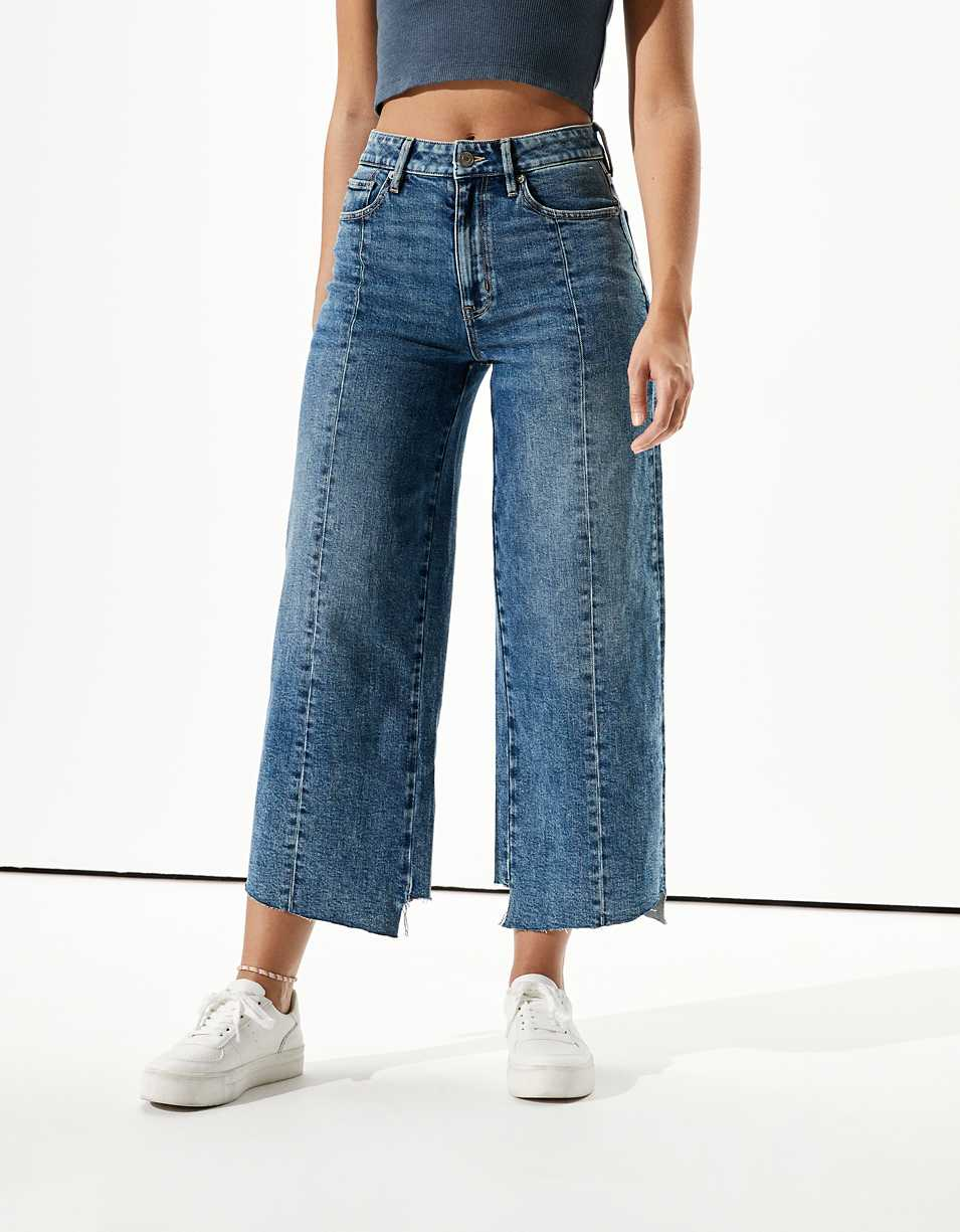 AE Wide Leg Crop Jean