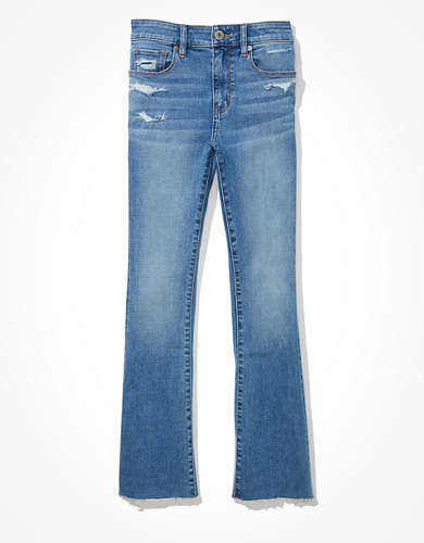 AE High-Waisted Skinny Kick Crop Jean