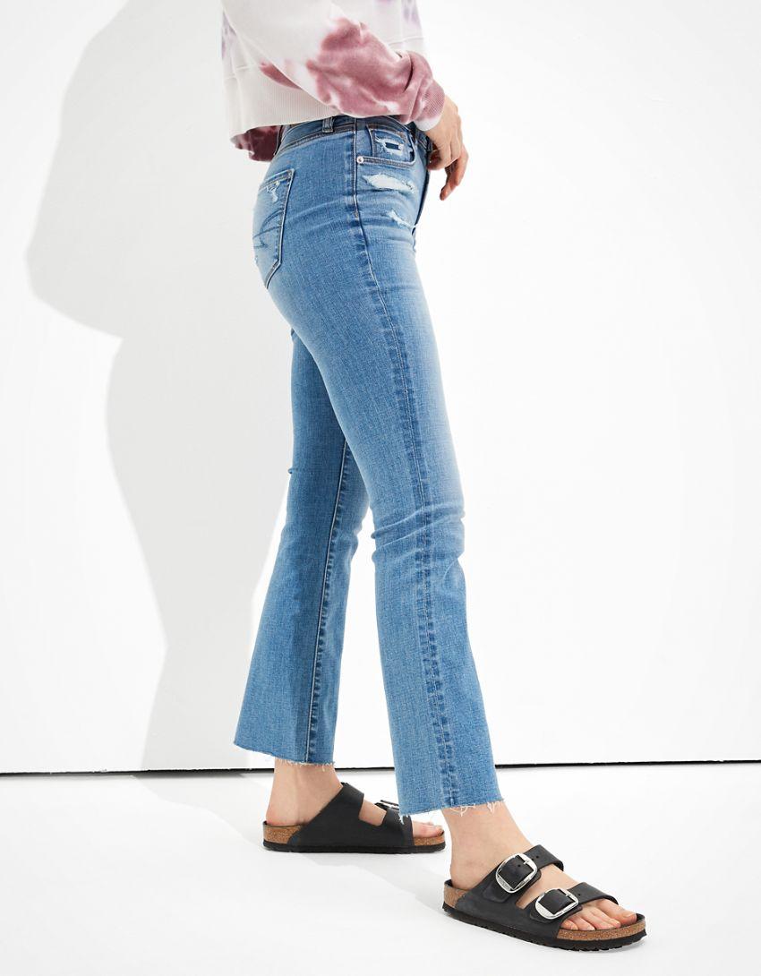 AE High-Waisted Skinny Kick Crop Jean