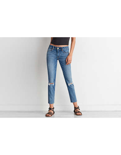 AE Denim X Straight Crop Jean