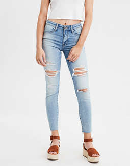 High-Waisted Jegging Crop