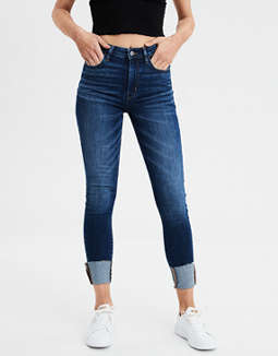Super High-Waisted Jegging Crop