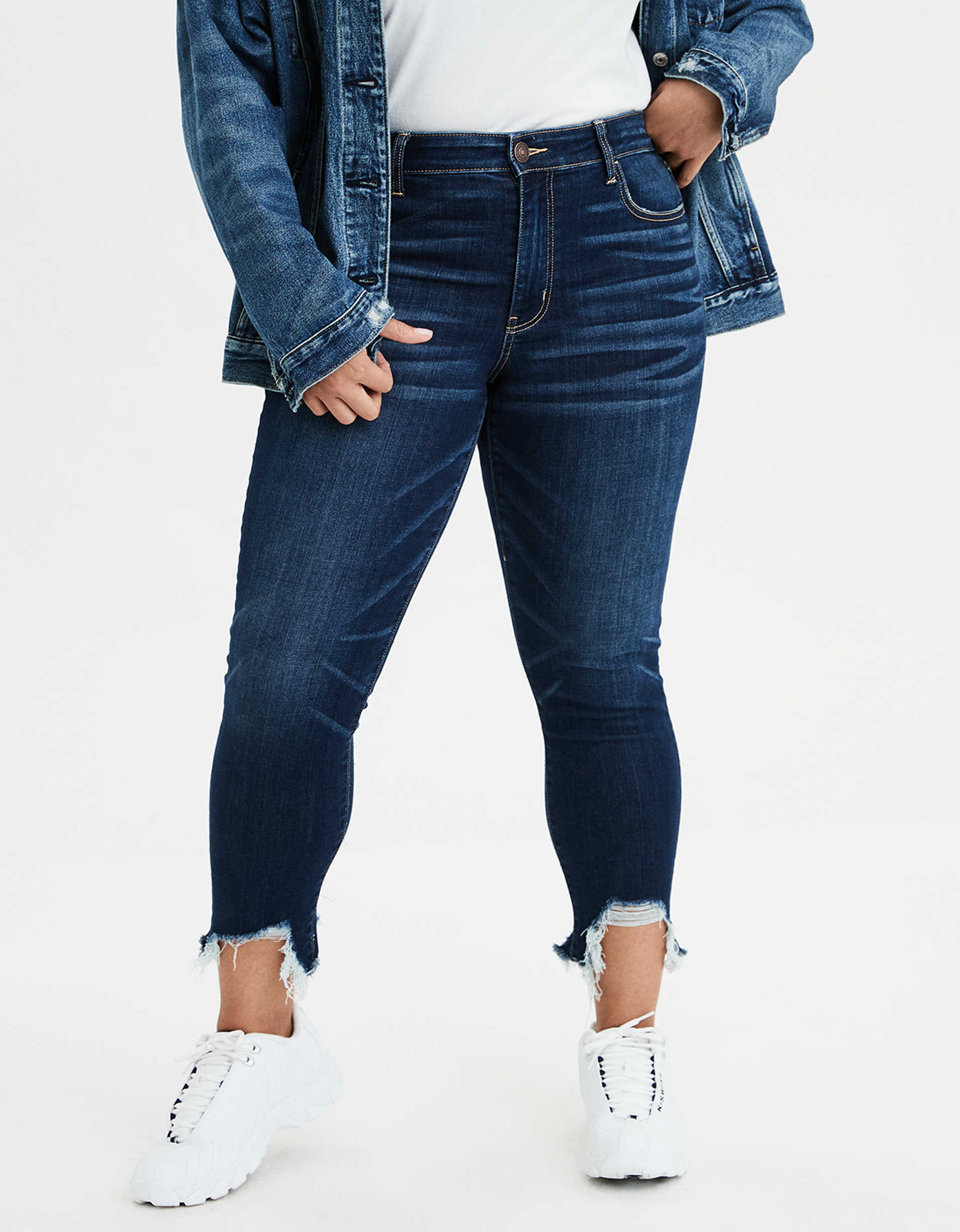 AE Ne(X)t Level High-Waisted Jegging Crop