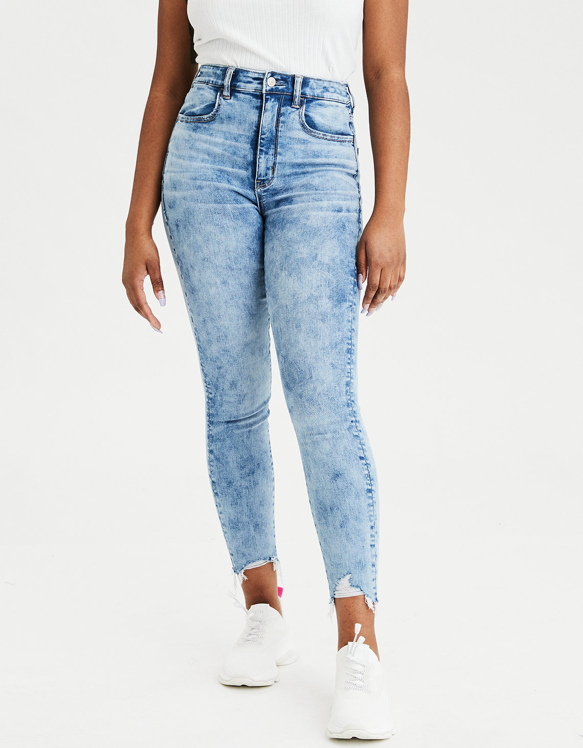 AE Ne(X)t Level Highest Waist Jegging Crop