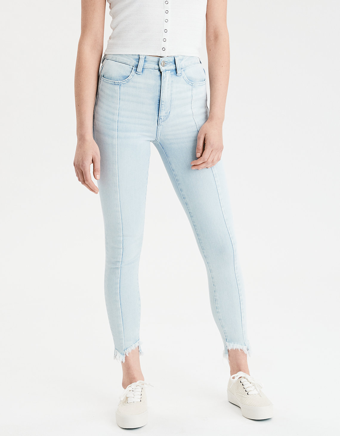 AE 360 Ne(X)t Level Highest Waist Jegging Crop