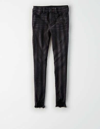 מכנסי ג'גינג מעוצבים גזרה גבוהה Ne(x)t Level אמריקן איגל