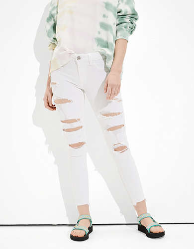 AE Ne(x)t Level Ripped Jegging Crop