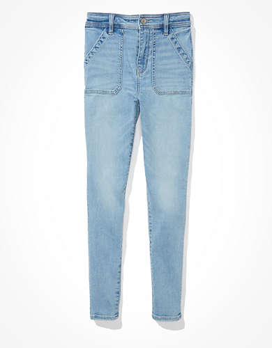 AE Ne(x)t Level Super High-Waisted Jegging Crop