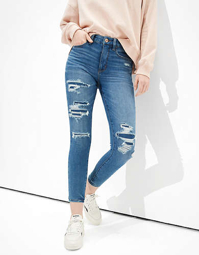 AE Dream Patched High-Waisted Jegging Crop