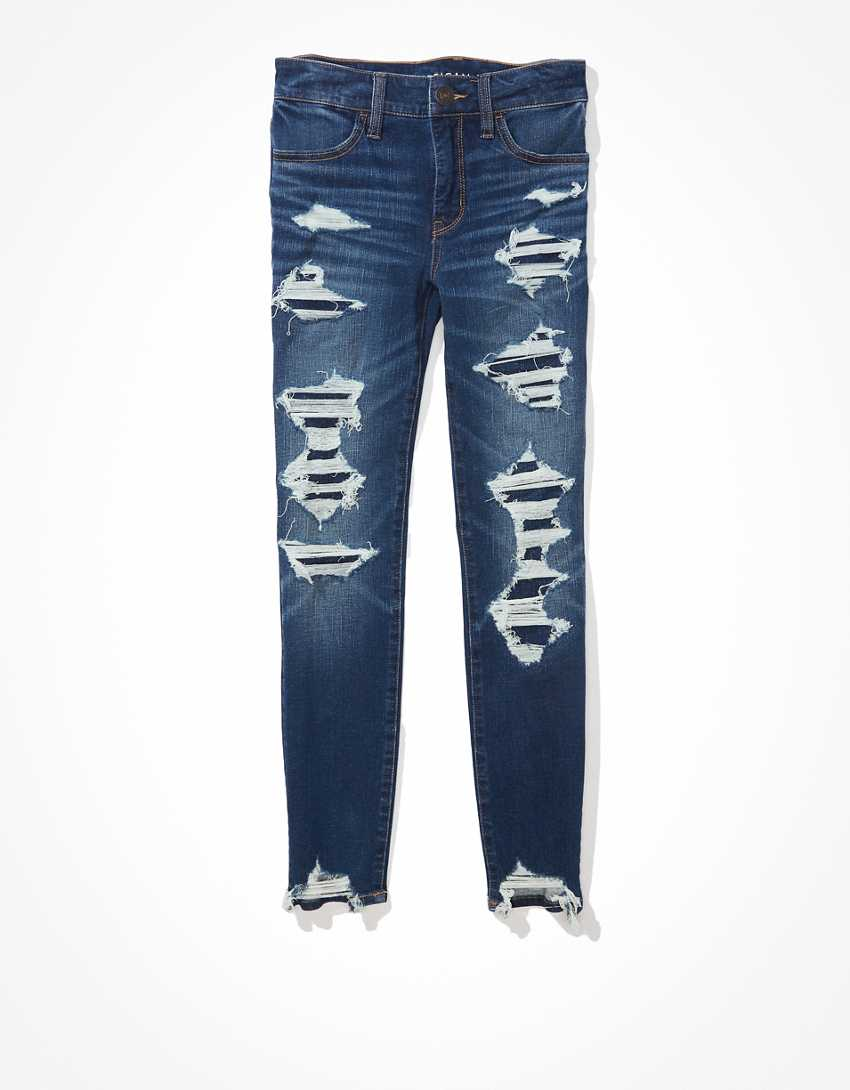 AE Dream Patched Jegging Crop