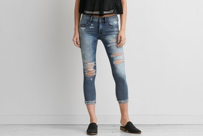 Denim X Café Jegging Crop