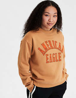 AE Fleece Graphic Sweater