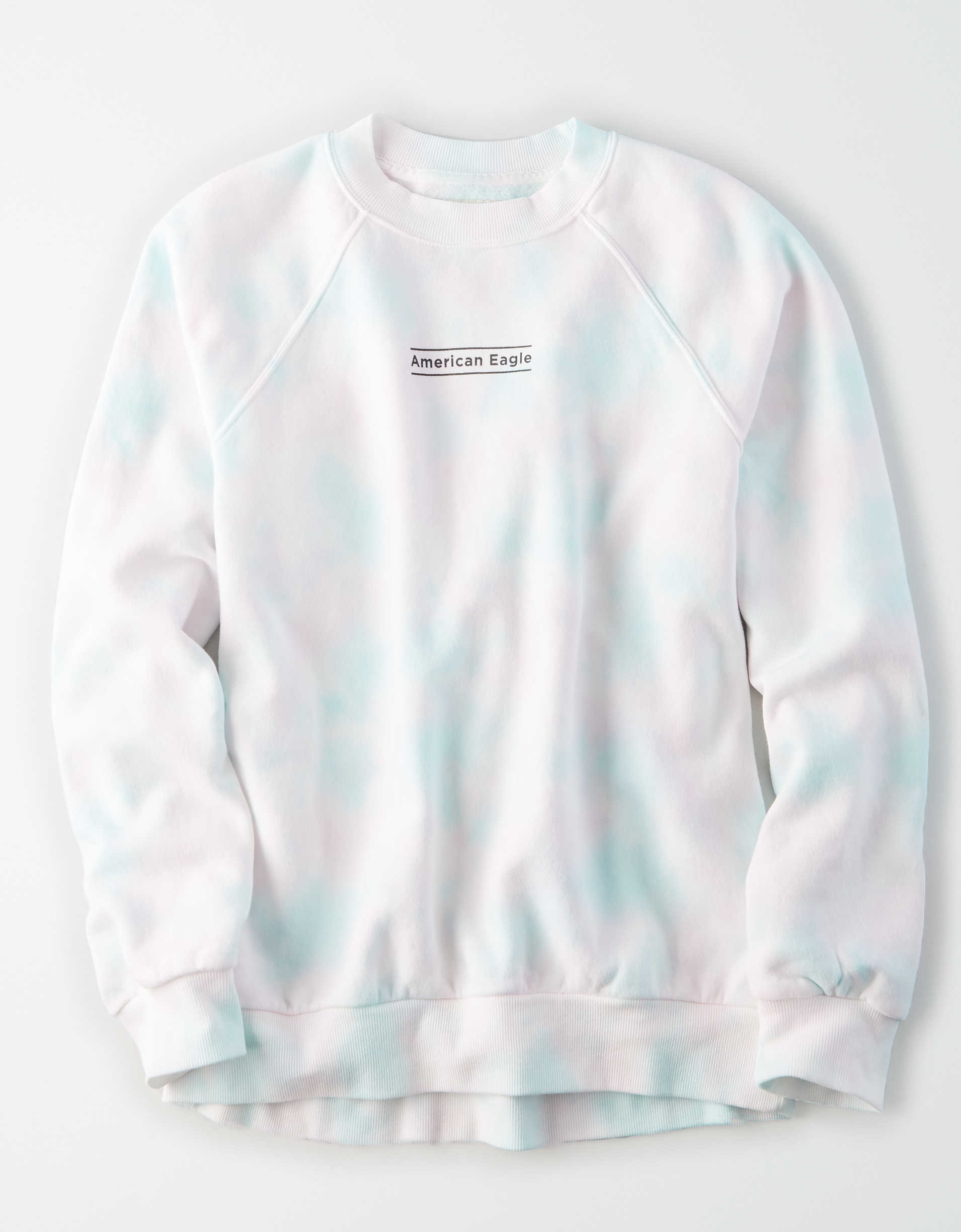 AE Fleece Graphic Crew Neck Sweatshirt
