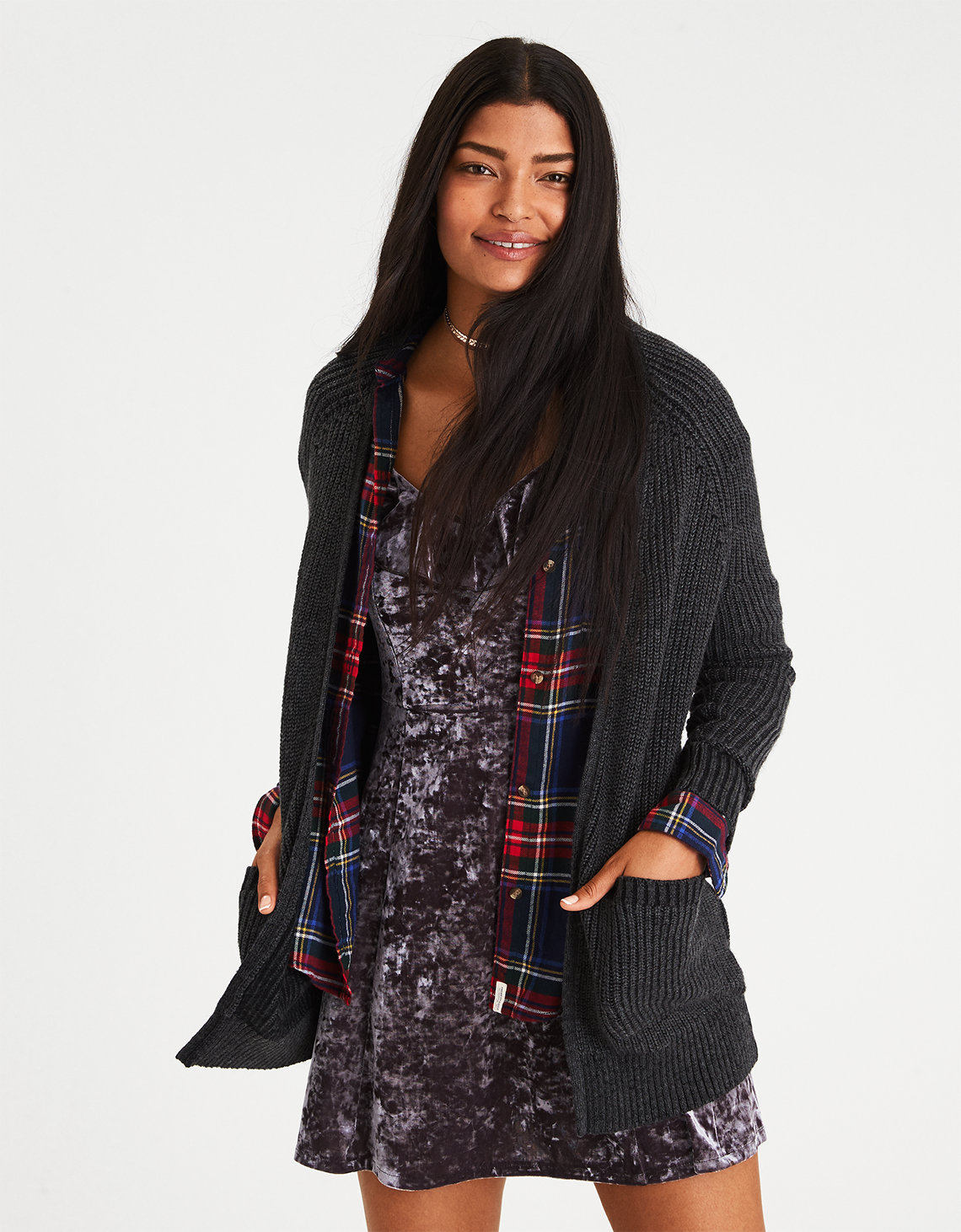 Womens Knit Cardigan | American Eagle Outfitters