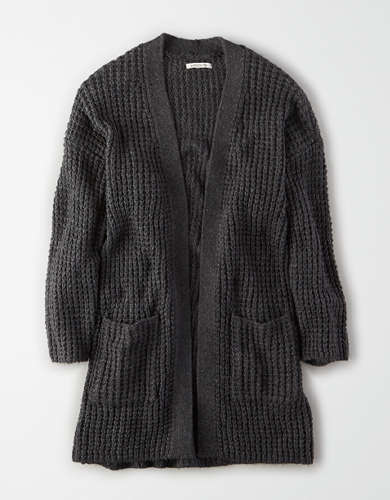 AE Oversized Pocket Cardigan