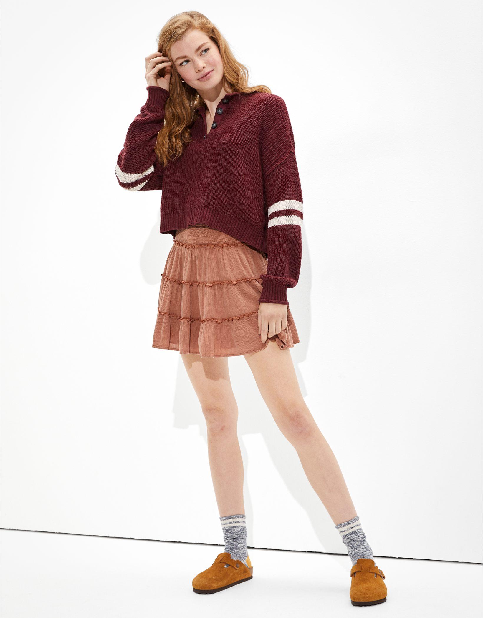 AE Henley Sweater