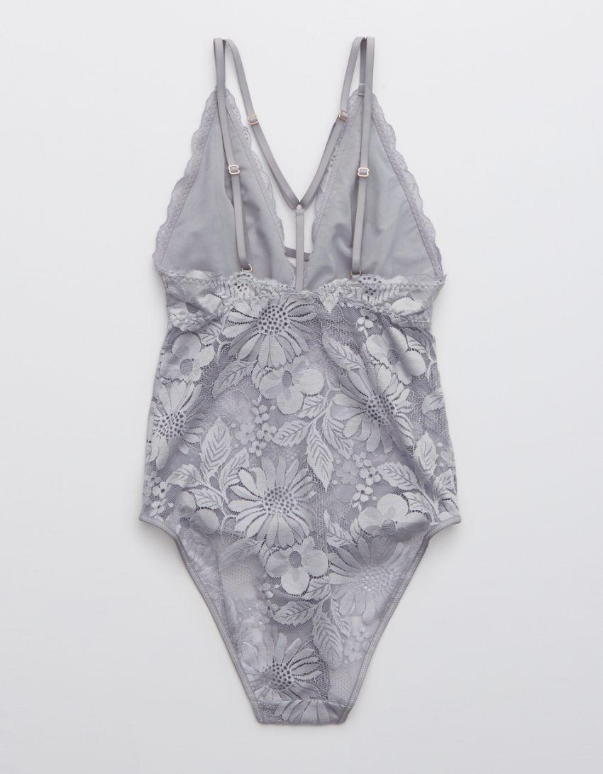 Aerie Garden Party Lace Bodysuit