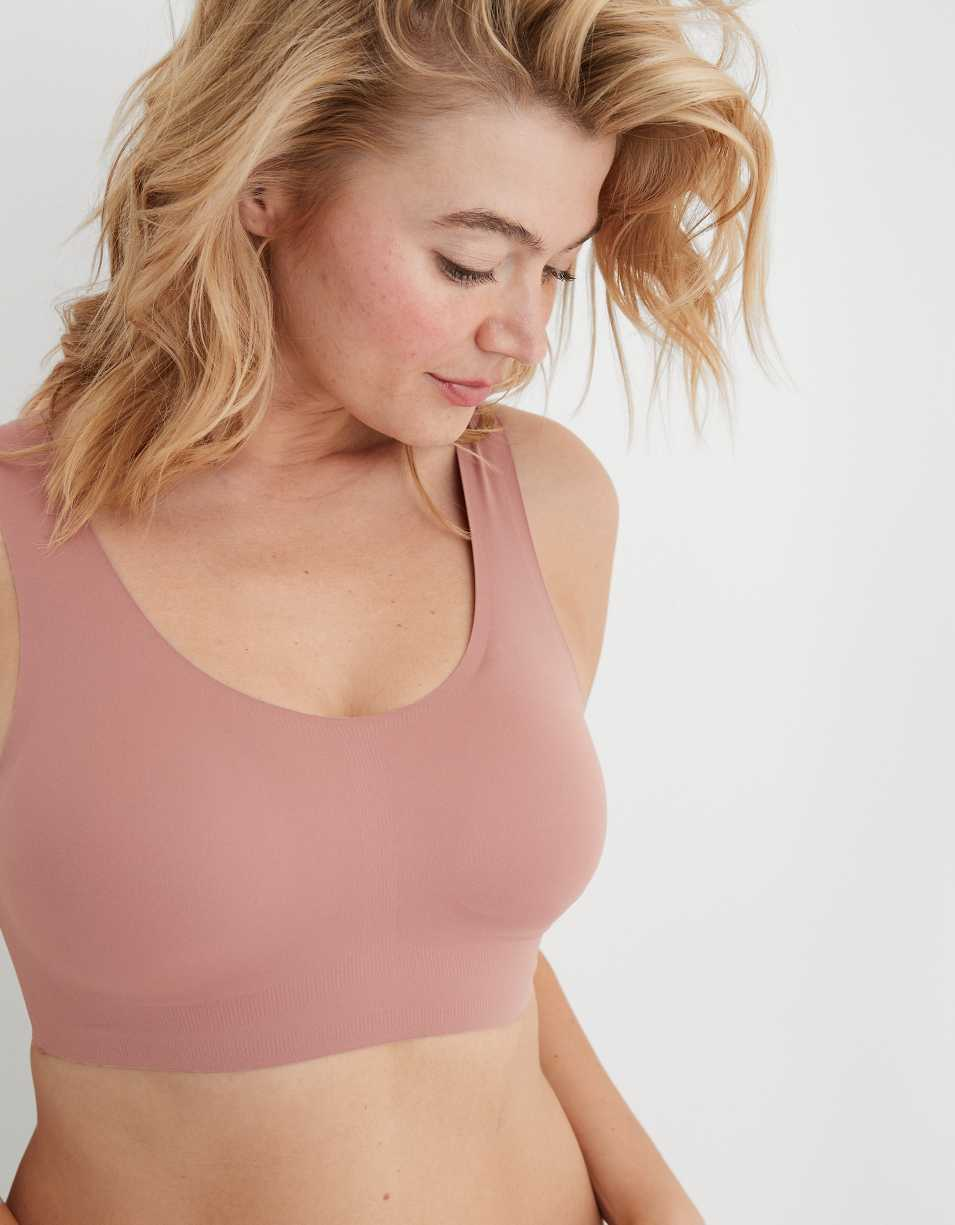 Aerie Real Free Padded Scoop Bralette