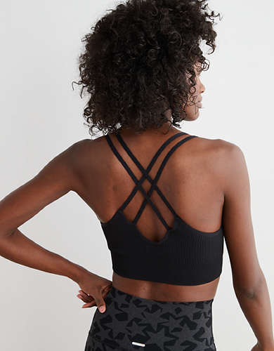 Aerie Seamless Strappy Padded Bralette