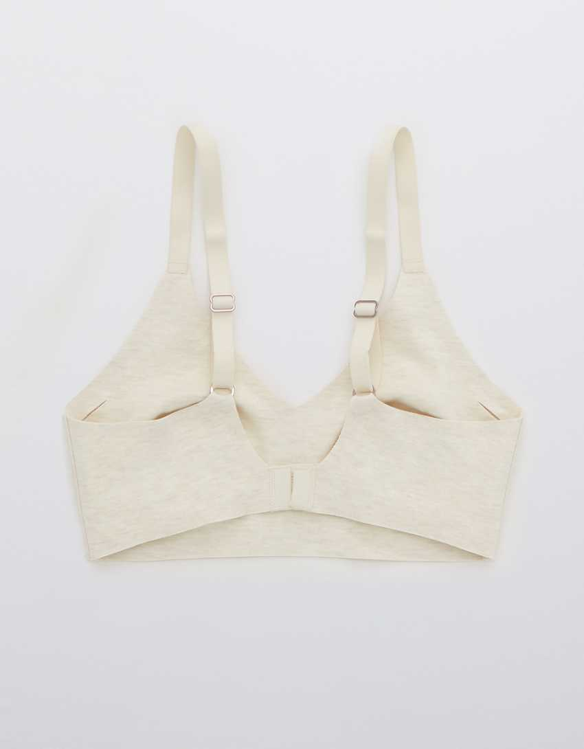 Aerie Real Free Cotton Padded Bralette