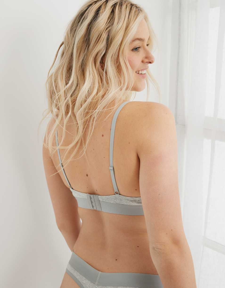 Aerie Ribbed Keyhole Bralette