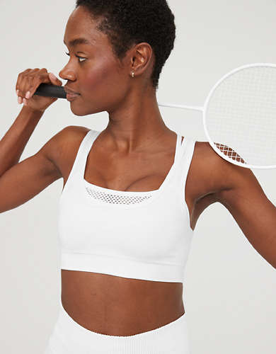 OFFLINE Seamless Layered Mesh Sports Bra