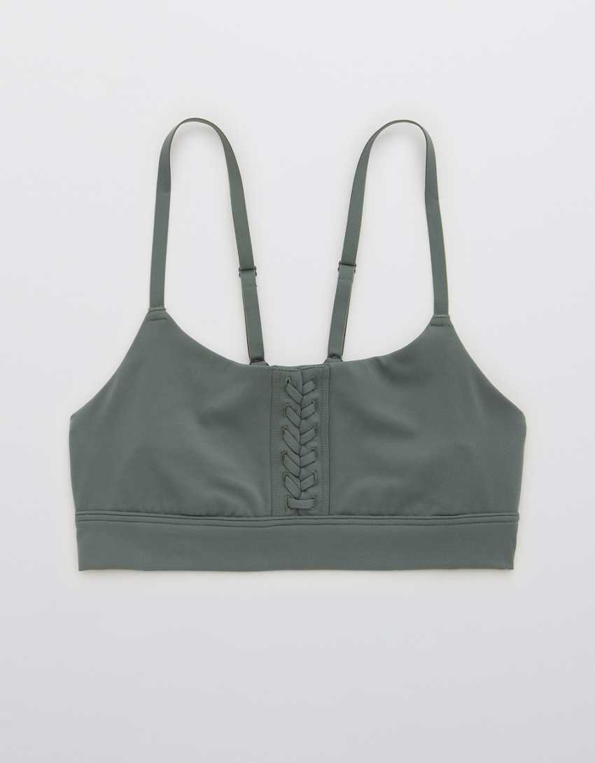 OFFLINE Real Me Lace Up Sports Bra