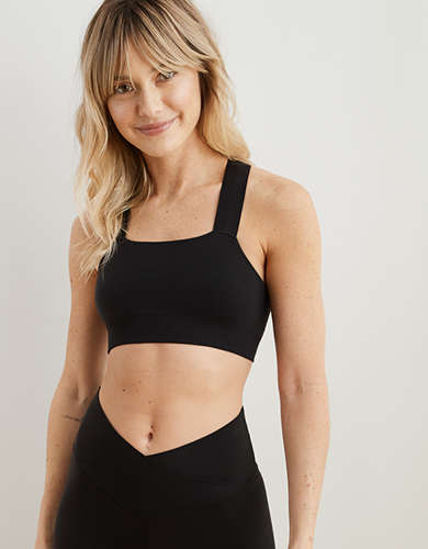 Aerie Play Seamless Racerback Sports Bra