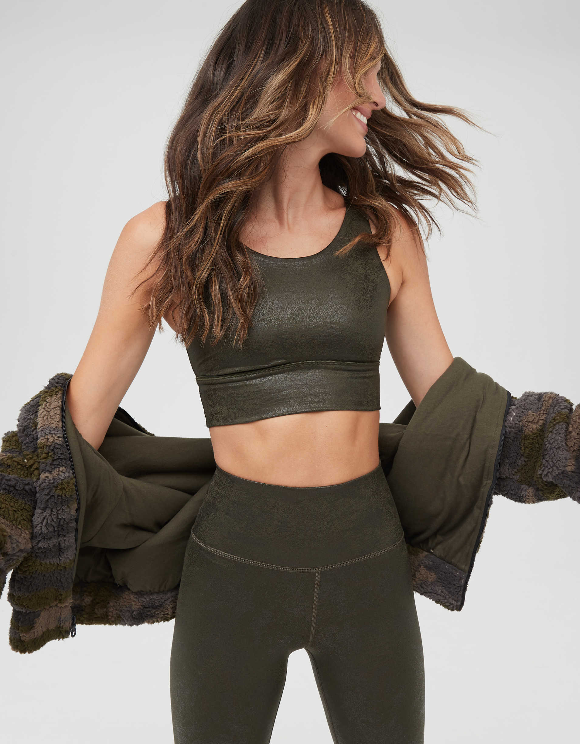 OFFLINE The Hugger Crackle Sports Bra