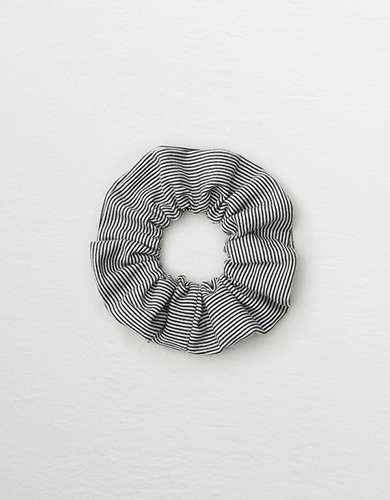 Aerie Striped Lurex Scrunchie -