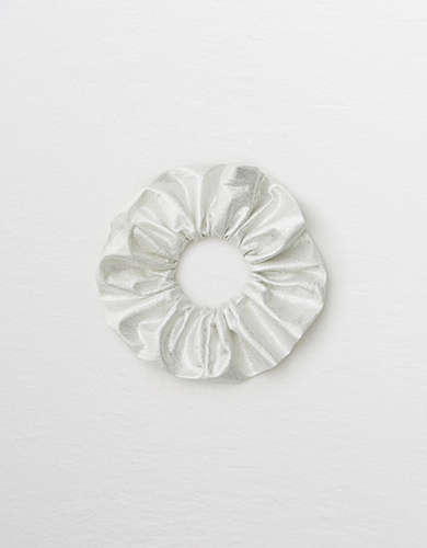 Aerie Metallic Scrunchie -