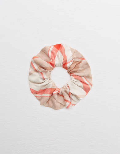 Aerie Flannel Scrunchie