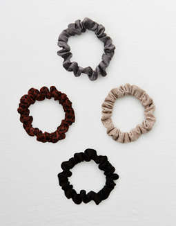 Aerie Mini Scrunchie 4-Pack