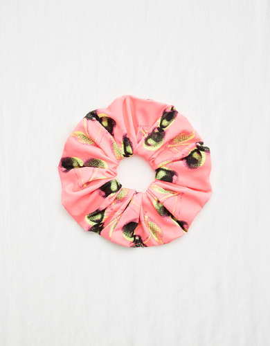 Aerie Printed Swim Scrunchie