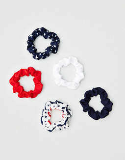 Aerie Americana Mini Scrunchie 2-Pack