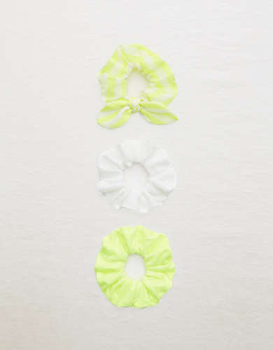 Aerie Neon Scrunchie 3-Pack