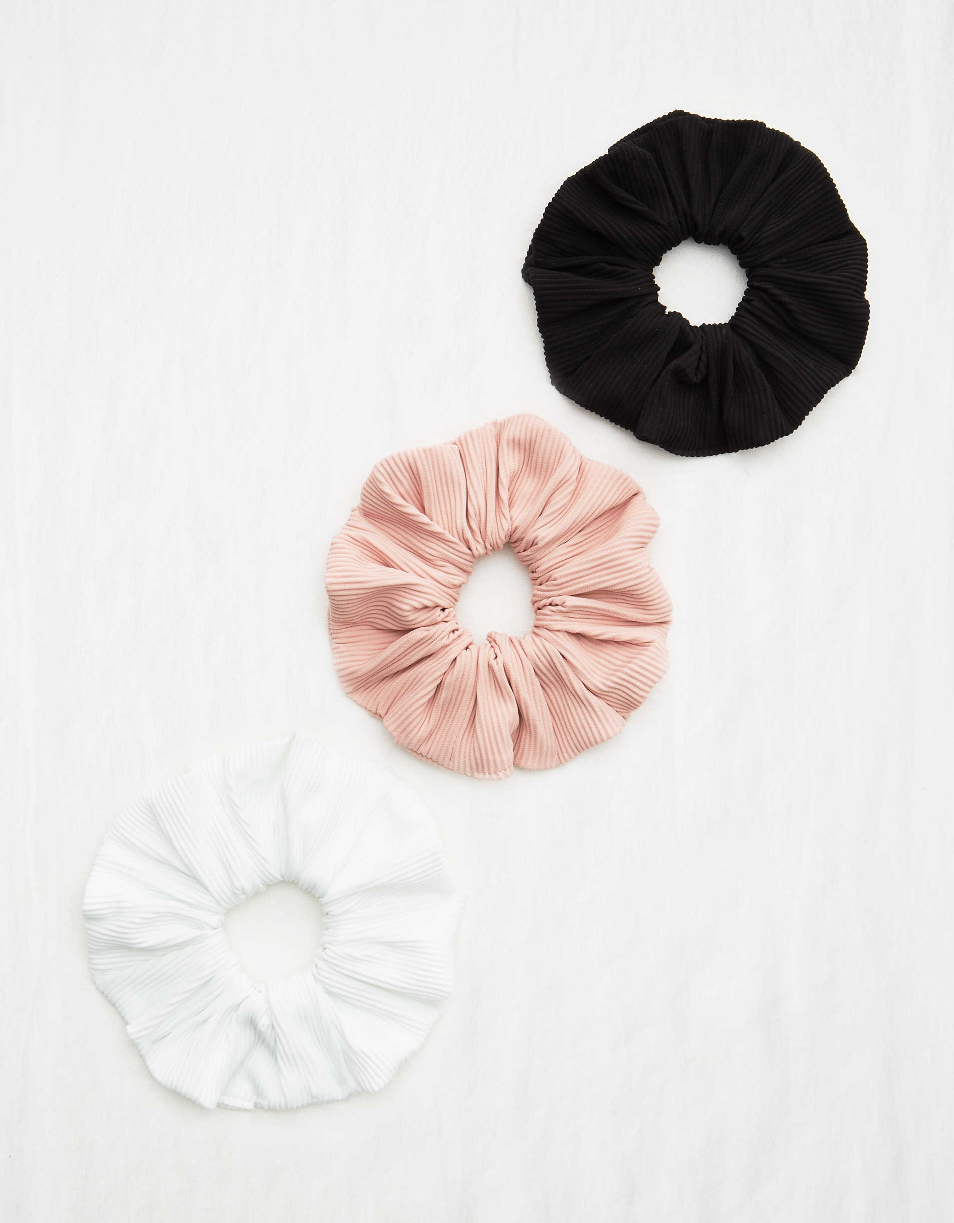 Aerie Ribbed Scrunchie 3-Pack