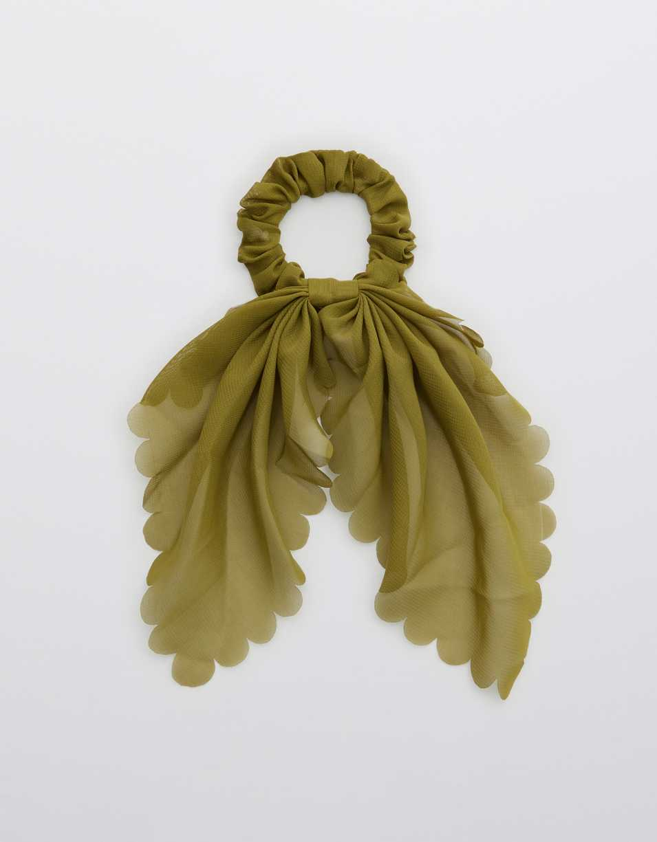Aerie Scalloped Scrunchie Scarf
