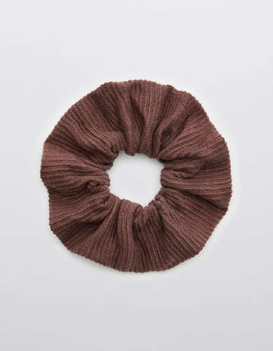 Aerie Corded Fleece Scrunchie