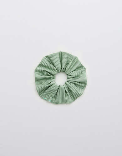 Aerie Ribbed Shine Swim Scrunchie