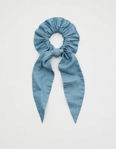Aerie Chambray Scrunchie Scarf
