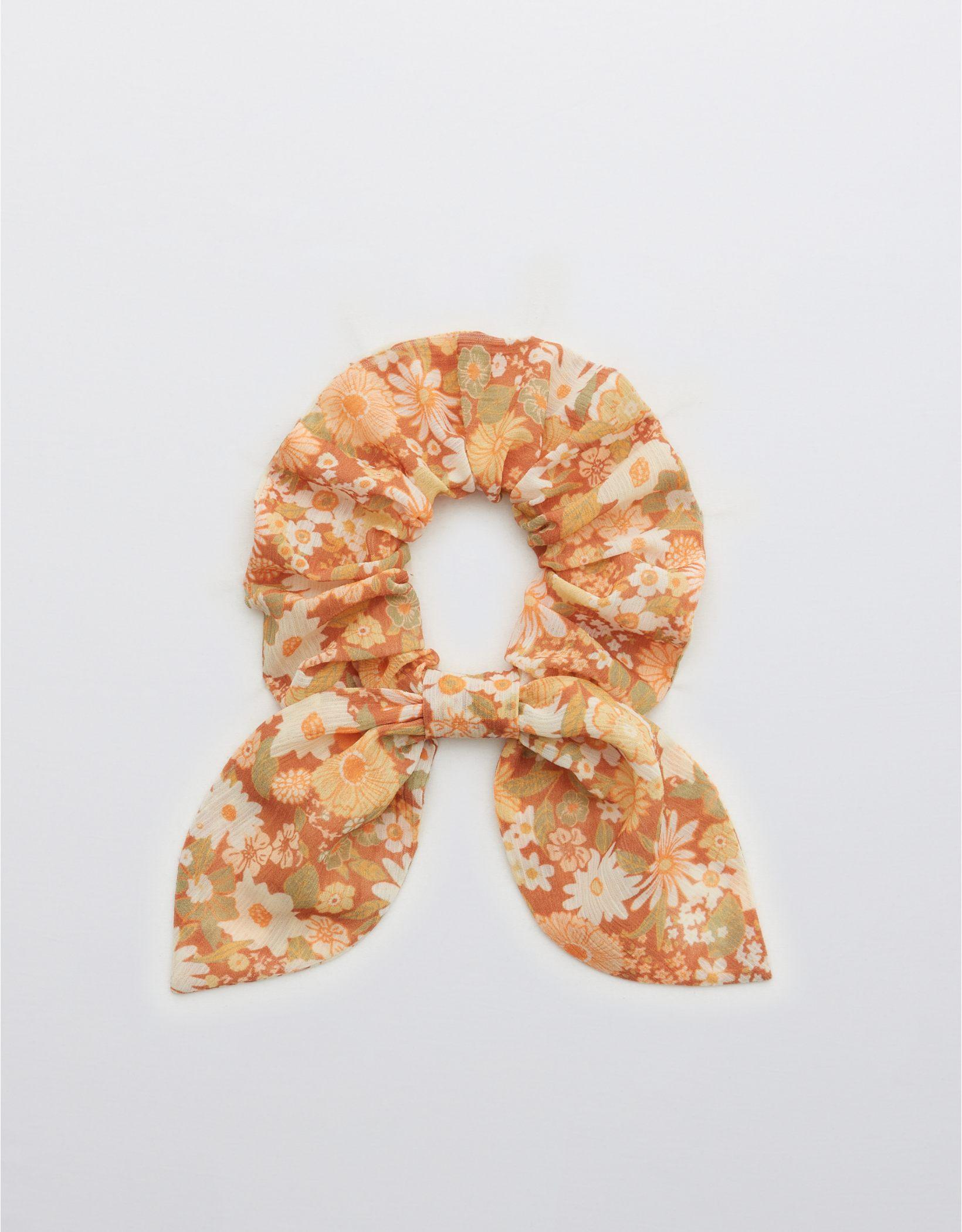 Aerie Chiffon Bow Scrunchie