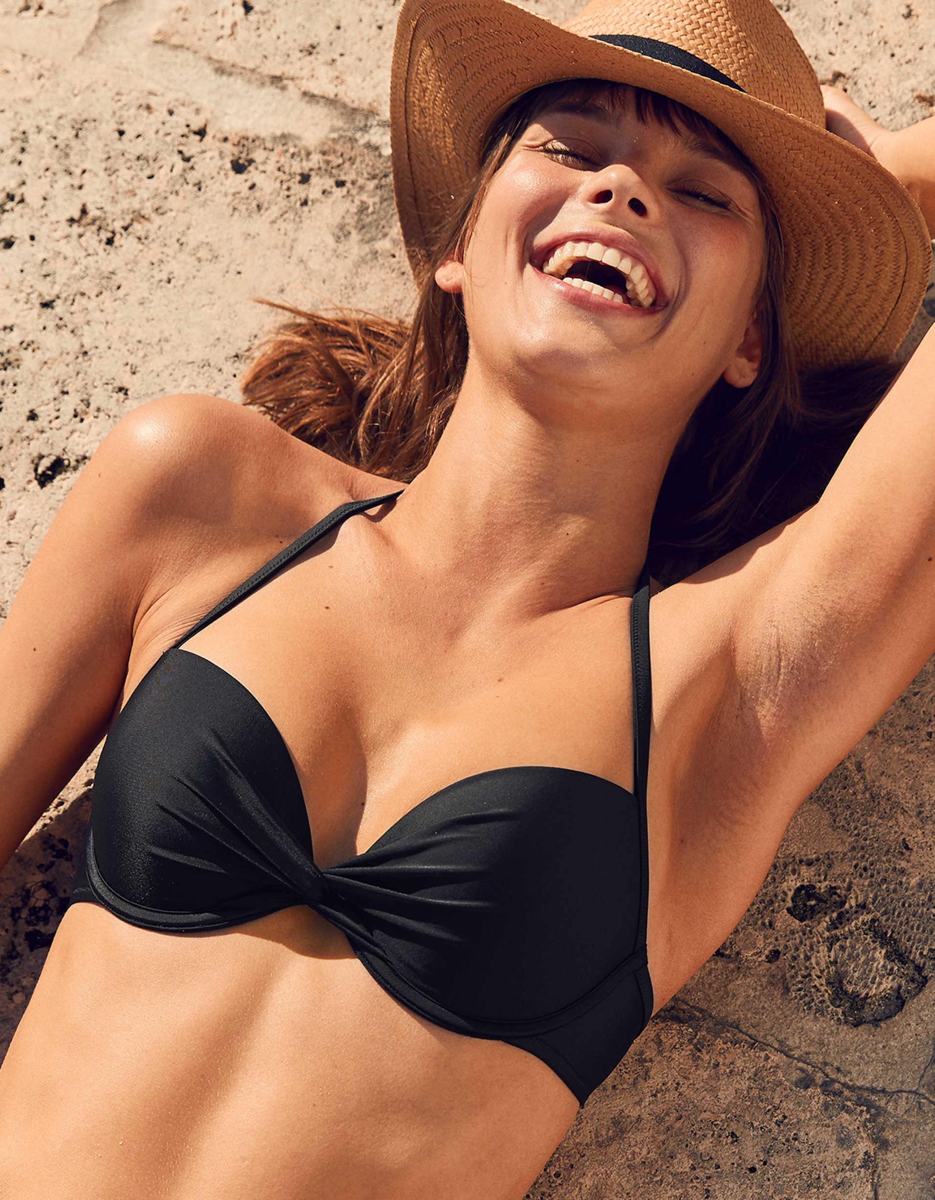 Aerie Push Up Underwire Bikini Top