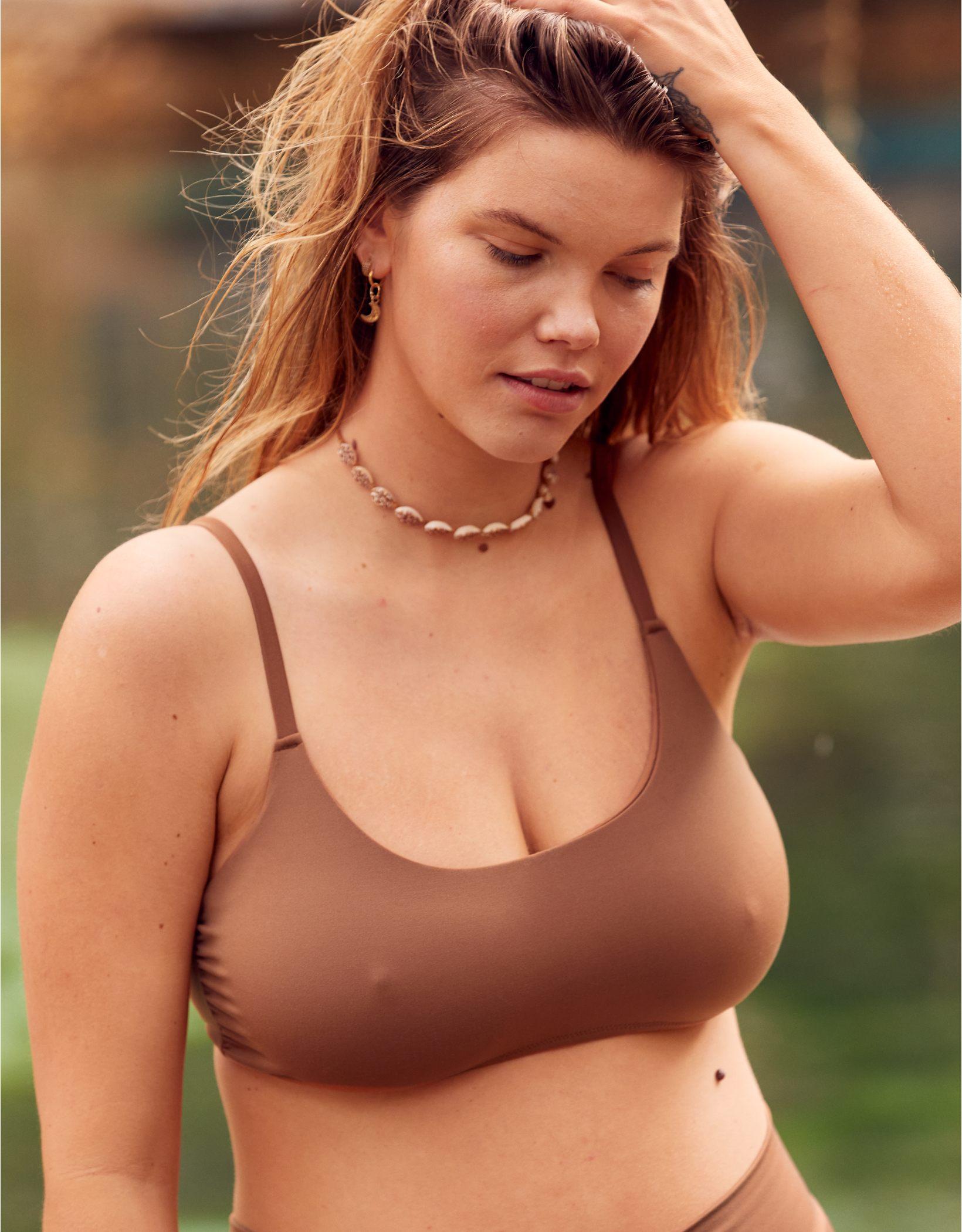 OFFLINE Real Me Scoop Bikini Top