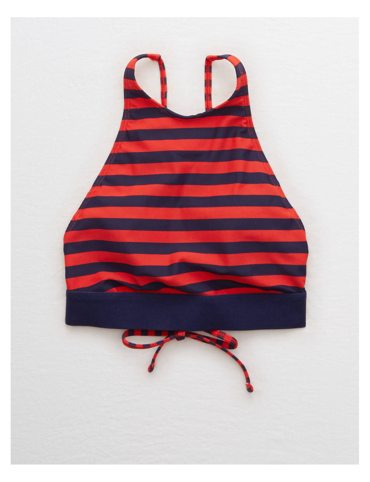 Display product reviews for Aerie Cross-Strap High Neck Bikini Top
