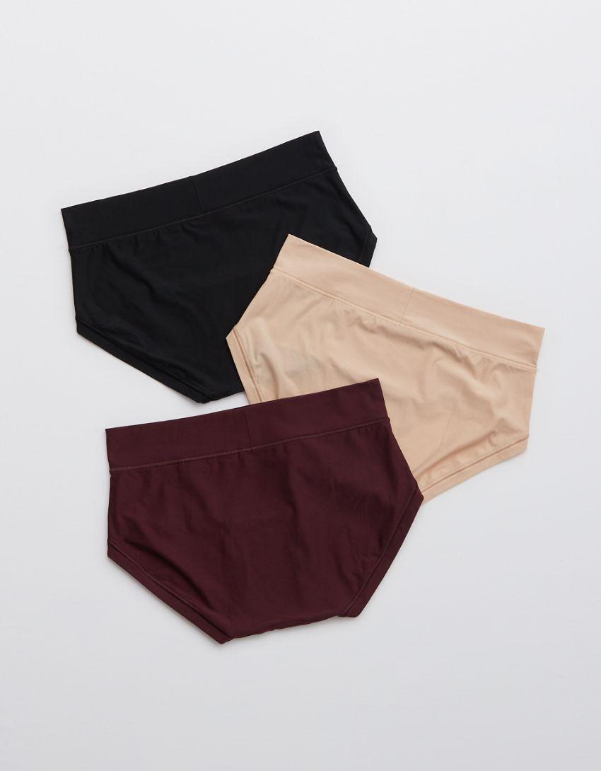 Aerie Real Me Boybrief Underwear 3-Pack