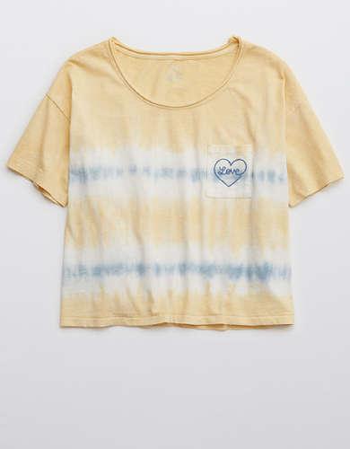 Aerie Tie Dye Sleep T-Shirt