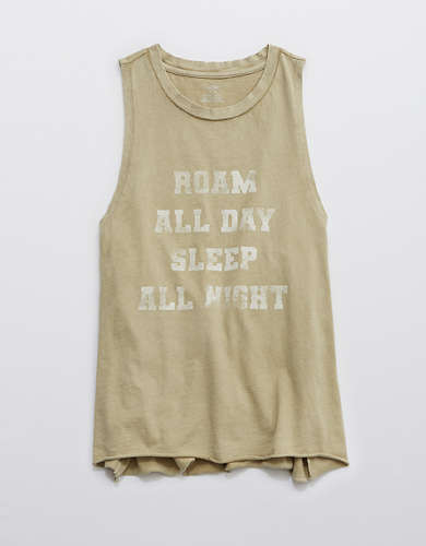 Aerie Sleep Graphic Muscle Tank