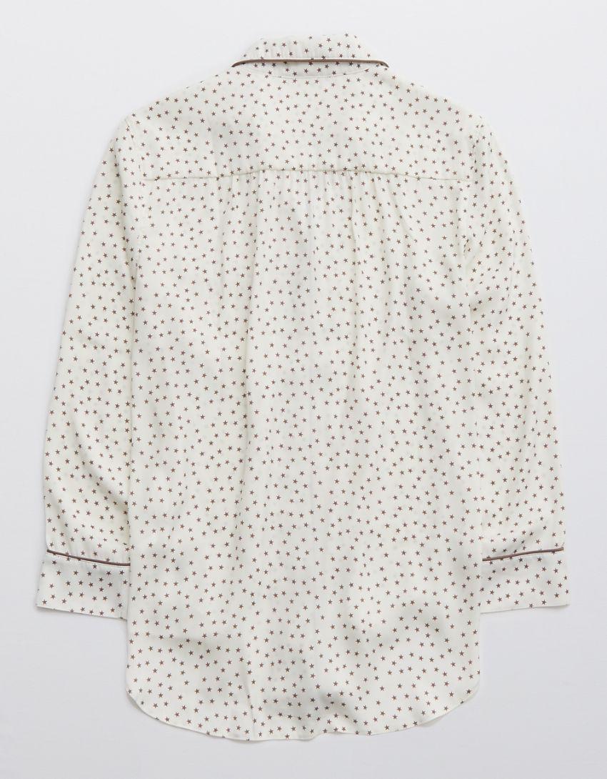 Aerie Satin Sleep Shirt