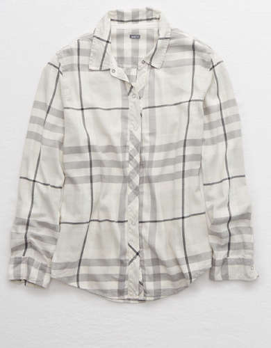 Aerie Flannel Button Down Shirt